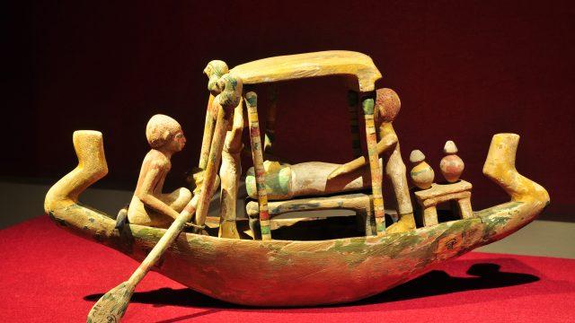 Ägypten Begräbnisboot